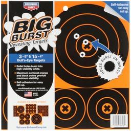 "Birchwood Casey Birchwood Casey Big Burst Revealing Targets 3-8"" & 15- 4"" Adhesive"