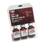Birchwood Casey Tru-Oil Gun Stock Finish Kit Walnut Stain Tru-Oil Stock Sheen & Conditioner