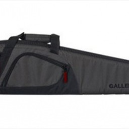 "Allen Allen 52"" Trappers Peak Shotgun Case 600D Shell 1"" Padding Nylon Gray/Black"