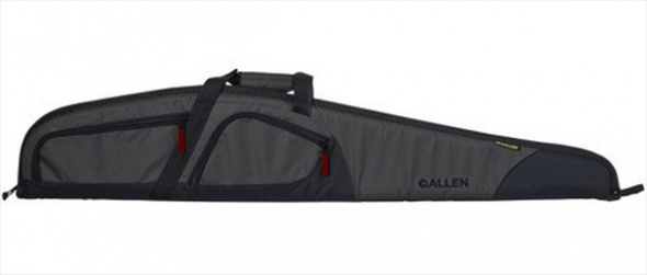"Allen 52"" Trappers Peak Shotgun Case 600D Shell 1"" Padding Nylon Gray/Black"