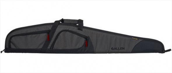 "Allen Allen 52"" Trappers Peak Shotgun Case 600D Shell 1"" Padding Nylon Gray/Black"