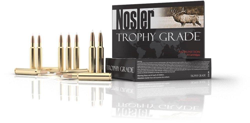 Nosler Nosler Trophy Grade 6.5x55 Swedish 140 Grain AB