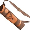 Bear Traditional Back Quiver Brown Leather