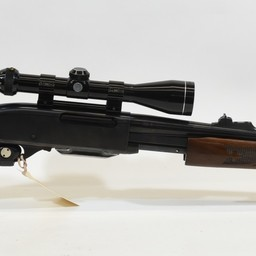 Remington UG-14816 USED Remington 7600 270 Win  Pump Rifle Wood/Blued 2 Magazines Tasco 3-9 Scope