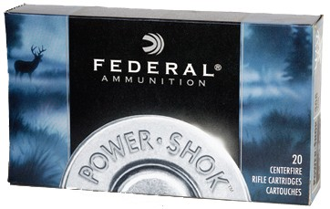 Federal Federal Power-Shok Centerfire Ammunition (20-Rounds)