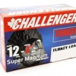 "Challenger Challenger 12 Gauge 3"" Super Magnum Turkey Load #6 (10 Rounds)"