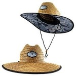 Huk Camo Patch Straw Hat Erie Size 1