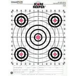 Champion Score Keeper 100-Yard Sight-In Rifle Target (12-Pack)
