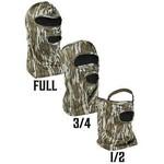 Primos Hunting Half Mask Wire Stretch Fit Mossy Oak Bottomland