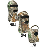 Primos Hunting 3/4 Mask Stretch Fit RealTree Edge