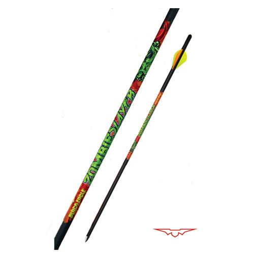 """Black Eagle 20"""" Zombie Slayer Crossbow Bolts 0.003"""" (6-Pack)"""