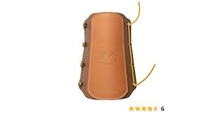 Bear Traditional Arm Guard Brown Leather