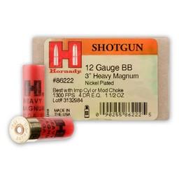 "Hornady Hornady 12 Gauge BB 3"" Heavy Magnum Coyote"