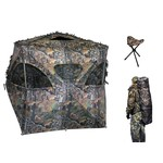 """Altan Safe Outdoors """"The Den"""" Blind w/ Chair"""