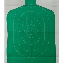 Champion B-27 Police Silhouette Single Paper Target