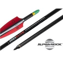 """Ten Point Alpha-Nock Carbon Crossbow Arrows 20"""" Pro Elite 400 (3-Pack)"""