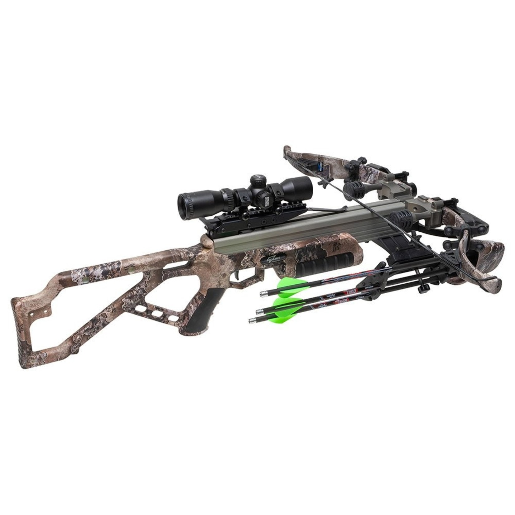 Excalibur Micro Mag 340 Crossbow Package w/ Dead Zone Scope Realtree Escape