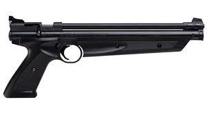 Crosman American Classic Pistol .177 Cal. Pellet Variable Pump Bolt Action Airgun Brown Synthetic Grip