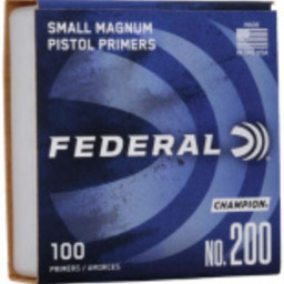 Federal Federal Small Magnum Pistol Primers No. 200 (100 Count)