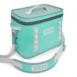 YETI Yeti International Hopper Flip 18 Cooler Aquifer Blue