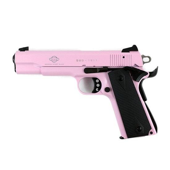 GSG 1911-22 .22LR Rose Pink Finish With Black Grips