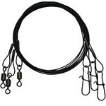 Eagle Claw Heavy Duty Wire Leader Steel 3-Pack