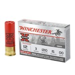 "Winchester Super X 12 Gauge 3"" 15 Pellet 00 Buckshot"