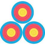 Maple Leaf Press 3x40 3-Spot 5-Ring 4-Colour Pro Target
