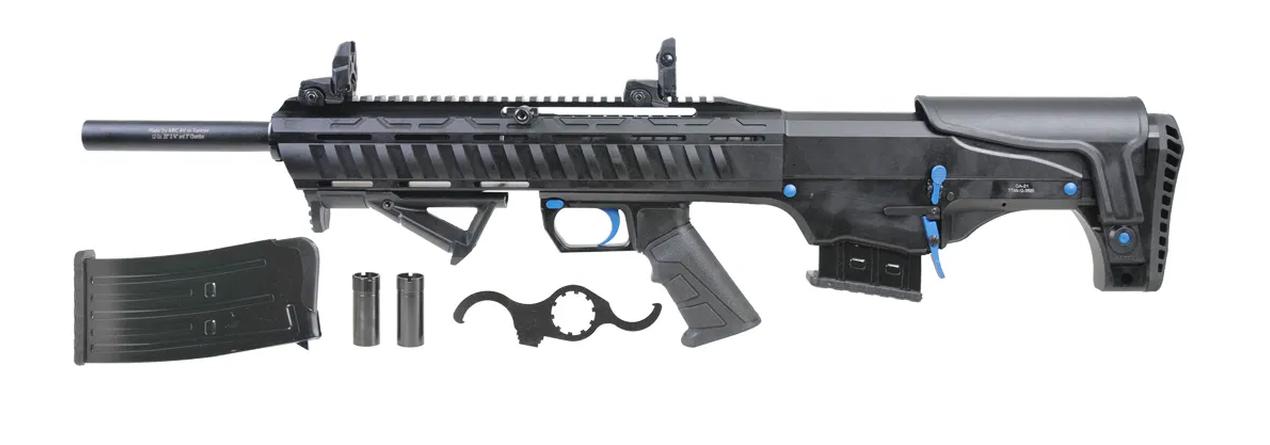 "Revolution Arms Revolution Armory Titan Bullpup 12 Gauge 3"" Chamber 20 "" Barrel Black/Blue"