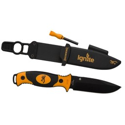 Browning Browning Ignite Knife w/ Flint Fire Starter