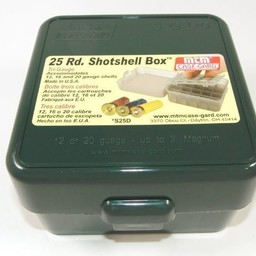 MTM Case-Gard Tri-Gauge Shotshell Box 25 Round