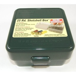 MTM Case-Gard Tri-Guage Shotshell Box 25 Round