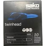 Sako Twinhead II 375 H&H 300 Grain ( 10 Cartridges)