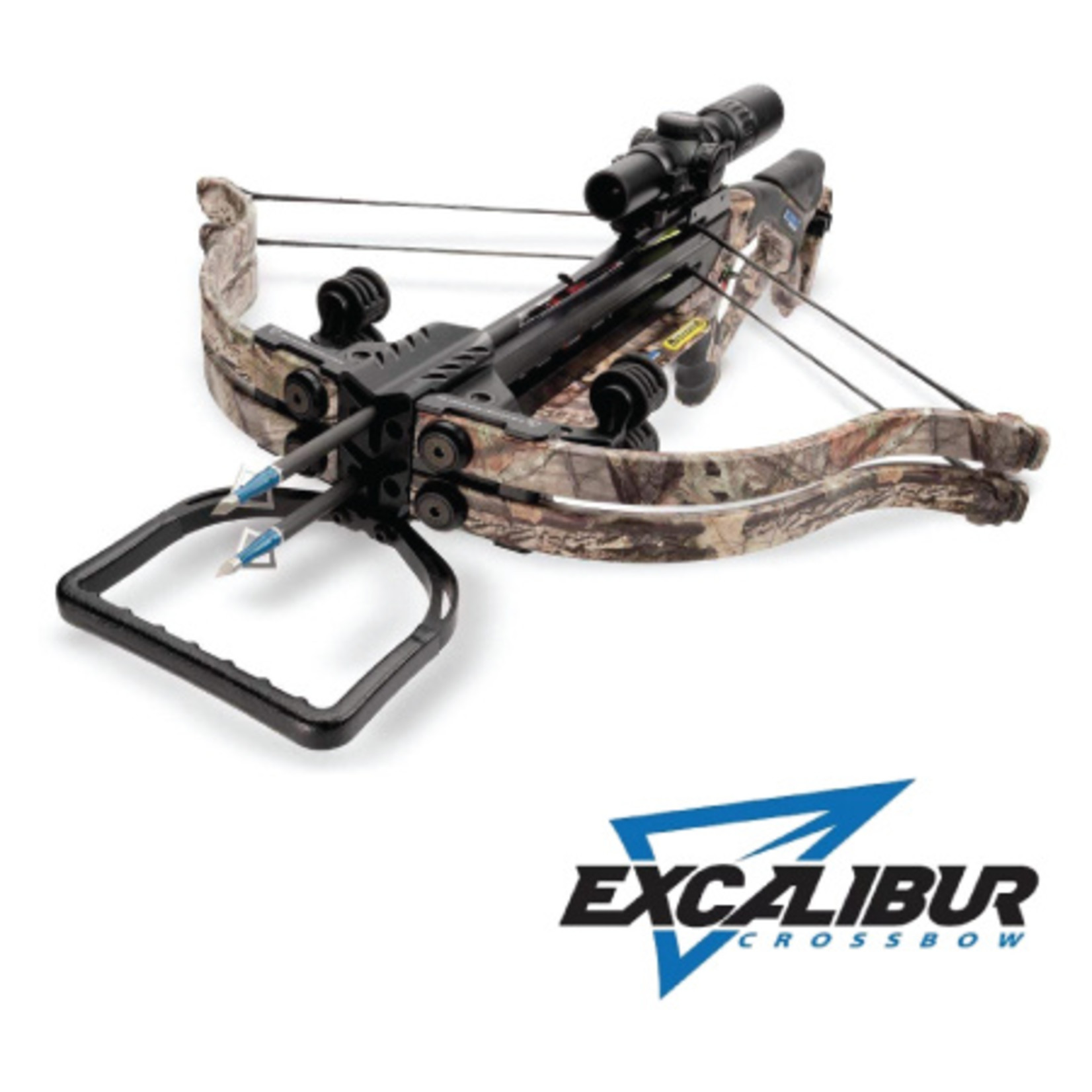 Excalibur Twinstrike Crossbow Package w/ Dualfire Technology  Break Up Country Camo