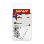 Eagle Claw Jig Spinners Size 2 (2-Pack)