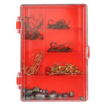 Eagle Claw Eagle Claw Hook, Swivels, Sinker Assortment 122-Piece Value Pack