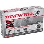 "Winchester Super X 12 Gauge 2 3/4"" 1 oz Rifled Slug Hollow Point (5 Rounds)"