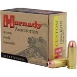 Hornady 10mm Auto Custom Pistol 180 Grain XTP (20 Rounds)