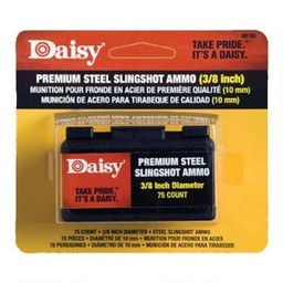 "Daisy Powerline Premium Steel Slingshot Ammo 3/8"" (75-Count)"