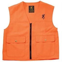 Browning Browning Junior Safety Vest Blaze Orange XL