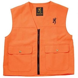 Browning Browning Junior Safety Vest Blaze Orange Medium