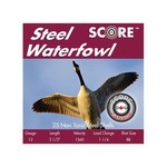 """Score Ammunition 12 Gauge 3 1/2"""" 1 1/4oz Steel Waterfowl Loads #BB (250 Rounds)"""