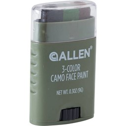 Allen Allen 3-Color Camo Face Paint (Black/Brown)