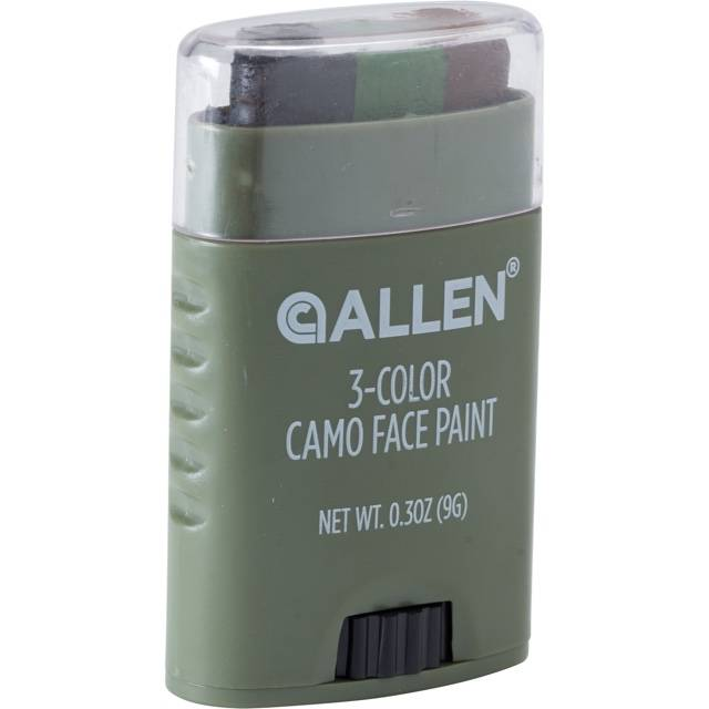 Allen Allen 3-Color Camo Face Paint (Black/Brown)
