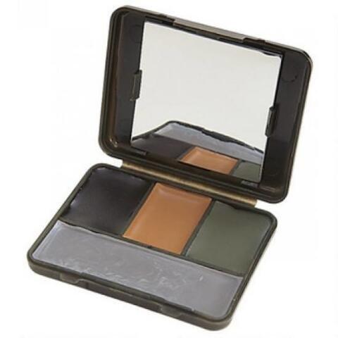 Allen 4-Color Face Paint Camo Compact