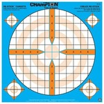 """Champion Re-Stick Targets Precision Sight-In 12"""" Bull"""