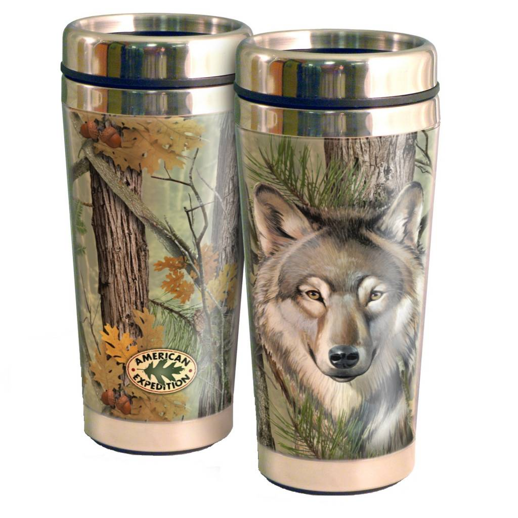 American Expedition 16oz. Stainless Steel Travel Mugs