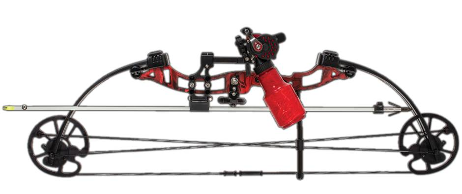 Cajun Sucker Punch Package Bow Fishing Kit Right Hand