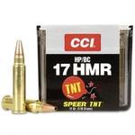 CCI TNT Varmint .17 HMR 17 Grain Jacketed Hollow Point (50 Rounds)