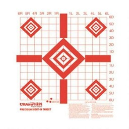 Champion Redfield Precision Sight-In Target (10-Pack)